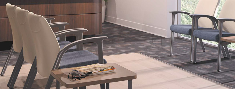 HON Healthcare Soothe Reception Seating