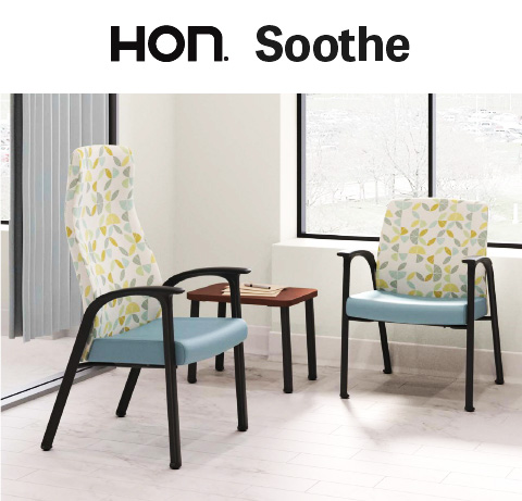 HON Soothe Healthcare Seating