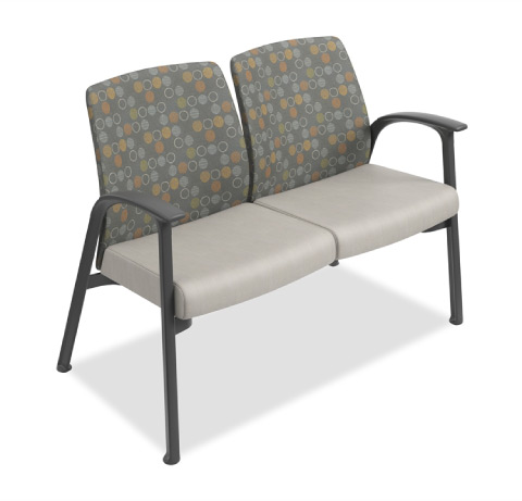 HON Soothe Tandem Guest Chair Healthcare Seating