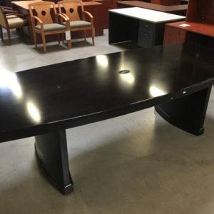 Boatshape conference table