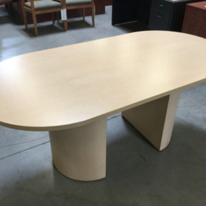 6' racetrack table