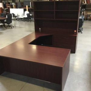 Case 2K u shape desk