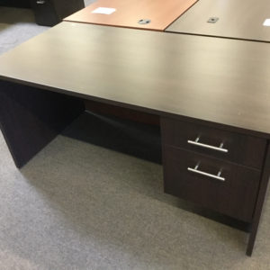 Case single ped desk