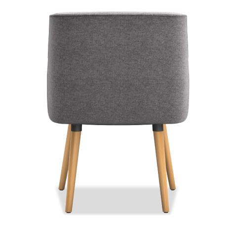 HON Matter Guest Chair Leg Base Back View