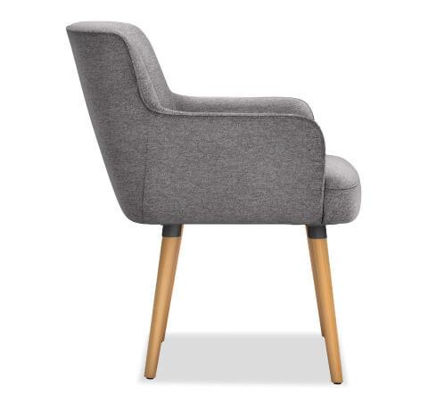 HON Matter Guest Chair Leg Base Side View