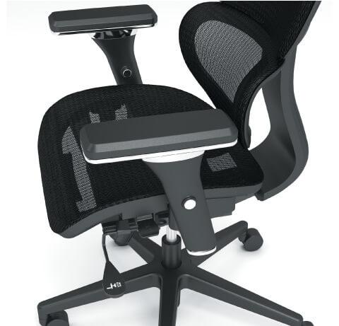 HON Neutralize Task Chair Ams Closeup