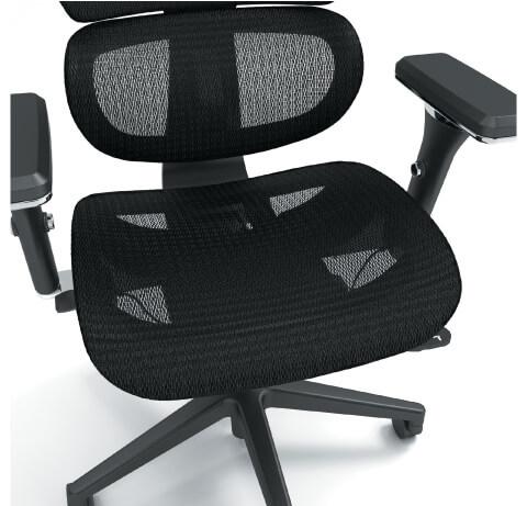 HON Neutralize Task Chair Mesh Closeup