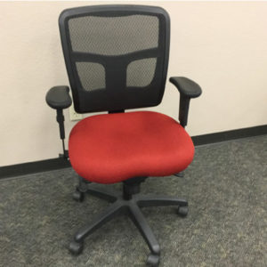 Office Master Yes Task Chair Crimson Scarlet