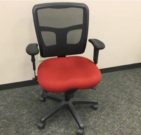 Office Master Yes Task Chair Crimson Scarlet
