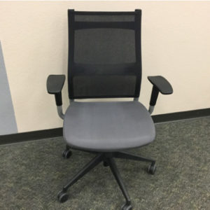 Sit On It Wit Task Chair Black Mesh