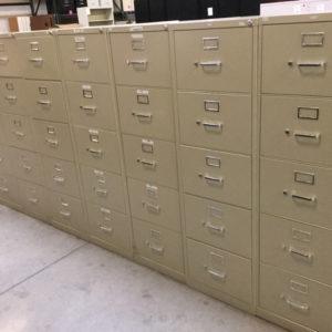 5 drawer vertical file
