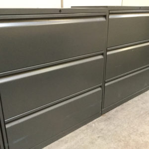 Knoll 3 drawer file