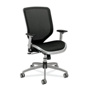 HON Boda Task Chair Mesh Seat Front View