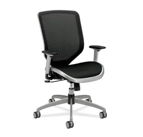HON Boda Task Chair Mesh Seat Front View