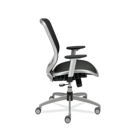 HON Boda Task Chair Mesh Seat Side View