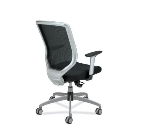 HON Boda Task Chair Upholstered Seat Back View