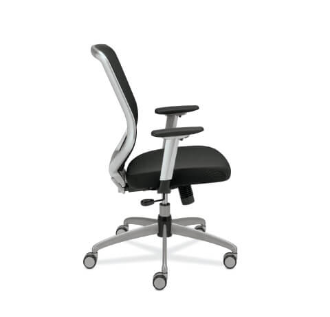 HON Boda Task Chair Upholstered Seat Side View