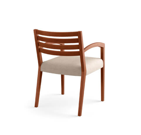 HON Cambia 2160 Guest Chair Back View