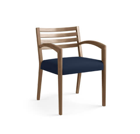HON Cambia 2160 Guest Chair Navy Seat