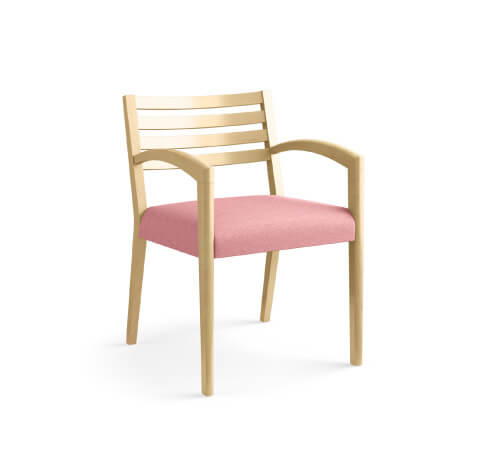 HON Cambia 2160 Guest Chair Pink Seat