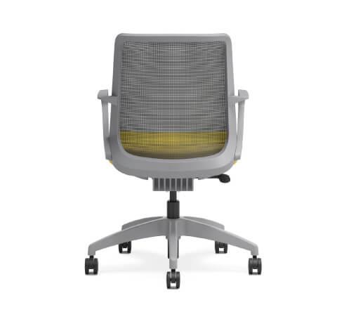 HON Cliq Task Chair Back View