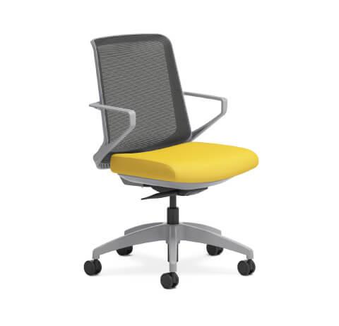 HON Cliq Task Chair Side View