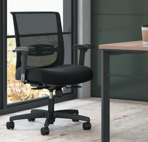 HON Convergence Black Task Chair