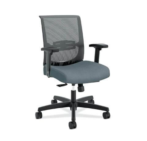 HON Convergence Task Chair Grey Seat
