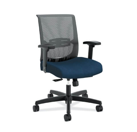 HON Convergence Task Chair Navy Seat