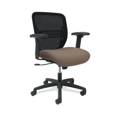 HON Gateway Task Chair Brown Seat