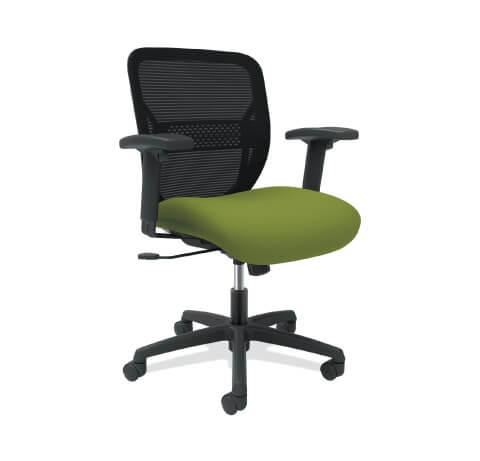HON Gateway Task Chair Green Seat