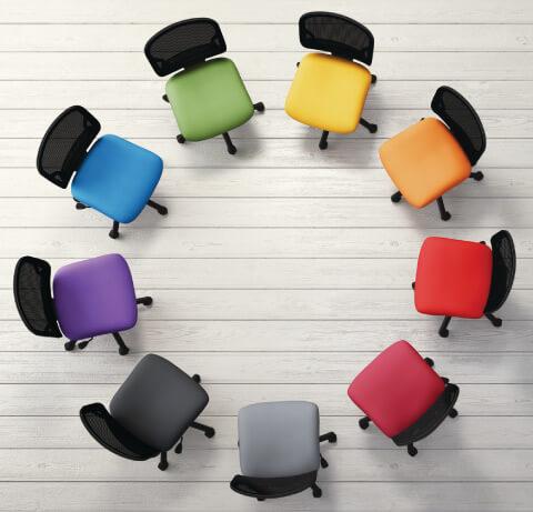 HON Gateway Task Chair Multiple Seat Fabrics