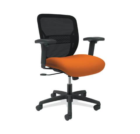 HON Gateway Task Chair Orange Seat