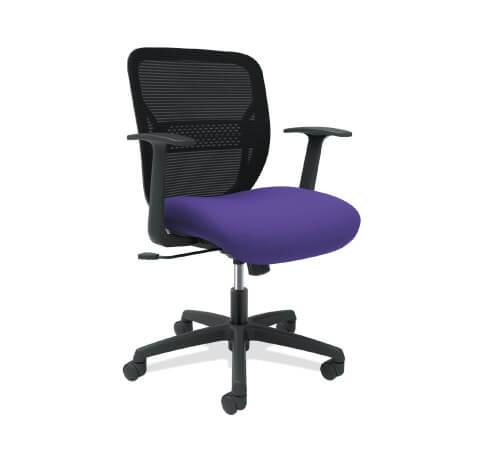 HON Gateway Task Chair Purple Seat