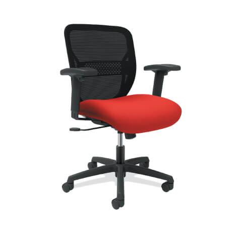 HON Gateway Task Chair Red Seat