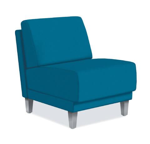 HON Grove Lounge Seating Single Seat Armless