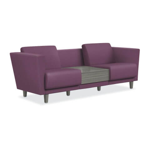 HON Grove Lounge Seating Two Seat With Table