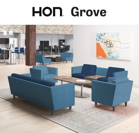 HON Grove Lounge Seating