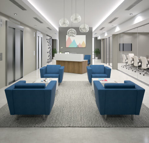 HON Grove Reception Seating
