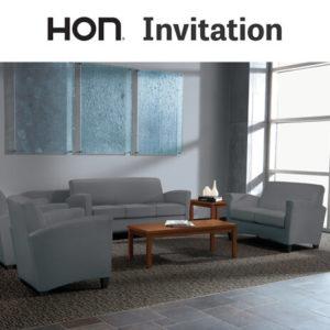 HON Invitation Lounge Seating