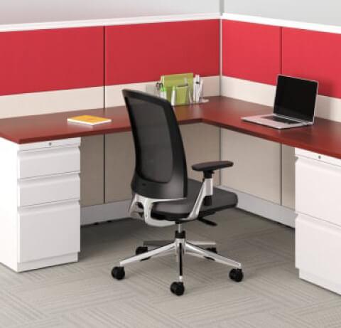 HON Lota Task Chair Chrome Frame