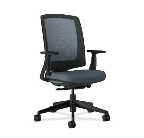 HON Lota Task Chair Grey Seat