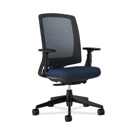 HON Lota Task Chair Navy Seat