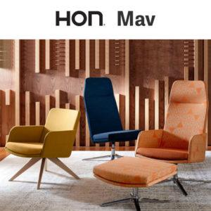 HON Mav Lounge Seating