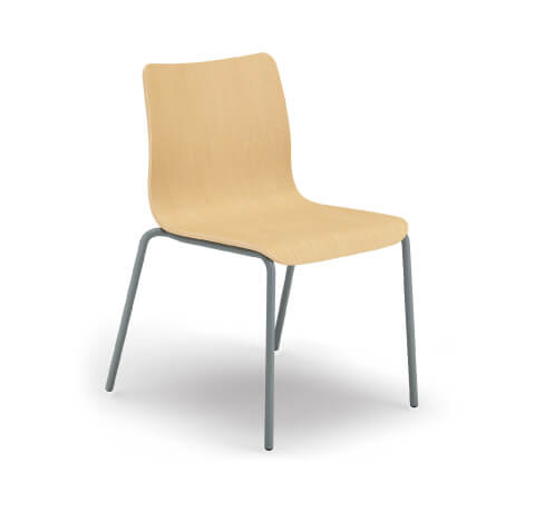 HON Ruck Chair in Nature Maple