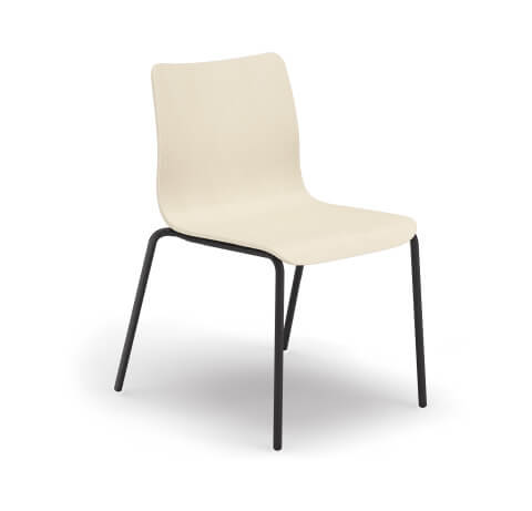 HON Ruck Chair in White Wash