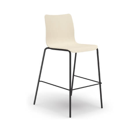 HON Ruck Stool in White Wash