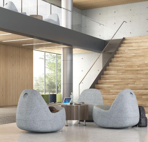 HON Skip Collaborative Lounge Seating