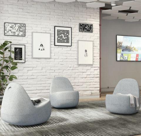 HON Skip Lounge Seating