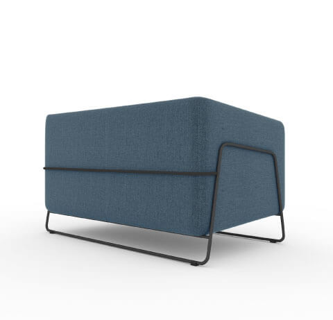 Friant Hanno Loveseat Back View